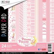 Ninna Nanna Girl 6 x 6 Double-Sided Paper Pad