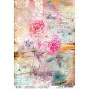 Sound Of Spring Piuma Carta Riso A4 Rice Paper Sheet