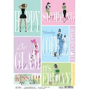 Glamour A4 Rice Paper Sheet