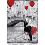 Love In Venice A4 Rice Paper Sheet - PRE ORDER