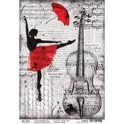 Listen To The Rhythm A4 Rice Paper Sheet - PRE ORDER
