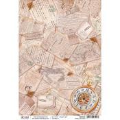 Travel Memories A4 Rice Paper Sheet