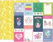 Horizon Paper #1 - Pink Paislee
