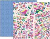 Horizon Paper #5 - Pink Paislee