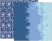 Horizon Paper #6 - Pink Paislee