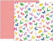 Horizon Paper #7 - Pink Paislee