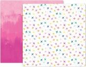 Horizon Paper #9 - Pink Paislee