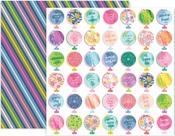 Horizon Paper #11 - Pink Paislee