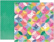 Horizon Paper #12 - Pink Paislee