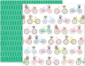 Horizon Paper #13 - Pink Paislee