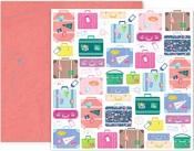 Horizon Paper #17 - Pink Paislee