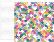Horizon Paper #20 - Pink Paislee