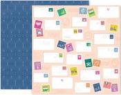 Horizon Paper #22 - Pink Paislee