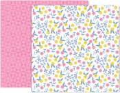 Horizon Paper #23 - Pink Paislee