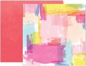 Horizon Paper #24 - Pink Paislee