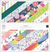 Horizon 12 x 12 Paper Pad - Pink Paislee