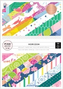 Horizon 6 x 8 Paper Pad - Pink Paislee