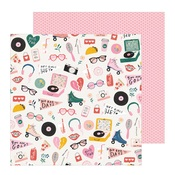 Cute Stuff Paper - All Heart - Crate Paper