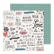 Go Girl Paper - All Heart - Crate Paper