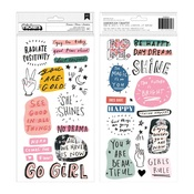 Dreamer Phrase & Icon Thickers - Crate Paper