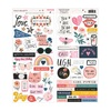 All Heart Cardstock Stickers - Crate Paper
