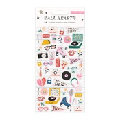 All Heart Puffy Stickers - Crate Paper