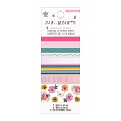 All Heart Holographic Foil Washi Tape - Crate Paper