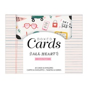 All Heart Boxed Card Set - Crate Paper