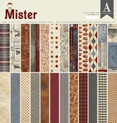 Mister 12 x 12 Paper Pad - Authentique