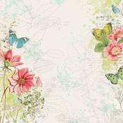 Embrace Life Paper - Simple Vintage Botanicals - Simple Stories