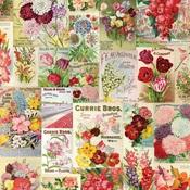 Scatter Kindness Paper - Simple Vintage Botanicals - Simple Stories - PRE ORDER