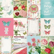3x4 Elements Paper - Simple Vintage Botanicals - Simple Stories - PRE ORDER