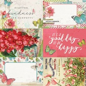 4x6 Elements Paper - Simple Vintage Botanicals - Simple Stories - PRE ORDER