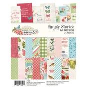 6x8 Paper Pad - Simple Vintage Botanicals - Simple Stories - PRE ORDER