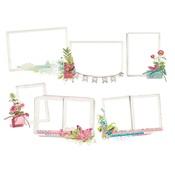 Layered Chipboard Frames - Simple Vintage Botanicals - Simple Stories