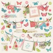 Banner Sticker - Simple Vintage Botanicals - Simple Stories