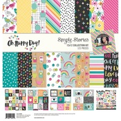 Collection Kit - Oh Happy Day - Simple Stories