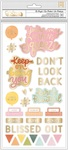 Be Bright Phrase & Icon Thickers - It's All Good - Dear Lizzy