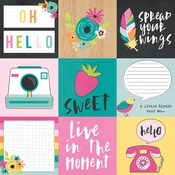 4x4 Elements Paper - Oh Happy Day - Simple Stories - PRE ORDER