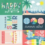 4x6 Elements Paper - Sunshine & Blue Skies - Simple Stories
