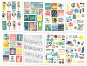Sunshine & Blue Skies Sticker Sheets - Simple Stories