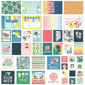 Sunshine & Blue Skies Snap Cards - Simple Stories - PRE ORDER