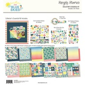 Sunshine & Blue Skies Collectors Essentials Kit - Simple Stories