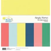 Sunshine & Blue Skies Simple Basics Kit - Simple Stories