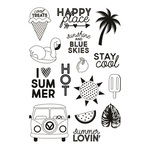 Sunshine & Blue Skies Stay Cool Stamp - Simple Stories