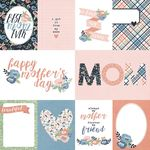 3x4 & 4x6 Elements Paper - Mom's Day - Simple Stories