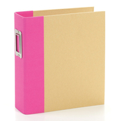 Pink Snap Binder - Simple Stories
