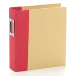 Red Snap Binder - Simple Stories