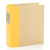 Yellow Snap Binder - Simple Stories