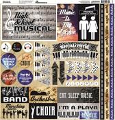 High School Musical Element Stickers - Reminisce